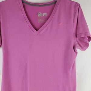 Womens Dri Fit Nike Athletic Tee Shirt